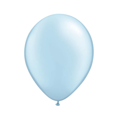 Pearlized Light Blue Opaque Balloons - Balloon Party Supplies - Surprize Enterprize - Putti Fine Furnishings Toronto Canada