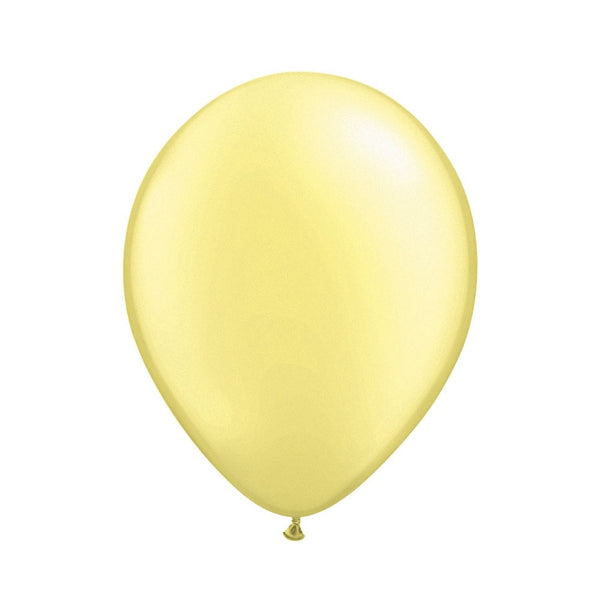 Pearlized Lemon Chiffon Opaque Balloons-Party Supplies-SE-Surprize Enterprize-Balloon-Putti Fine Furnishings
