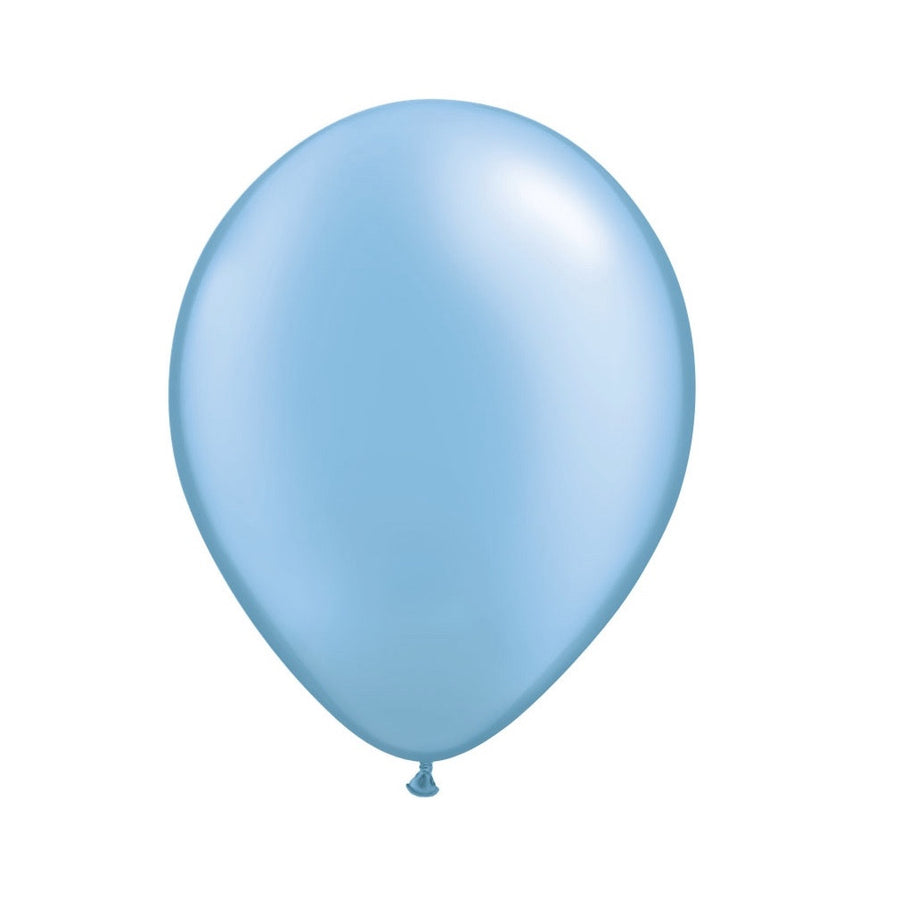 Pearlized Azure Blue Opaque Balloons, SE-Surprize Enterprize, Putti Fine Furnishings