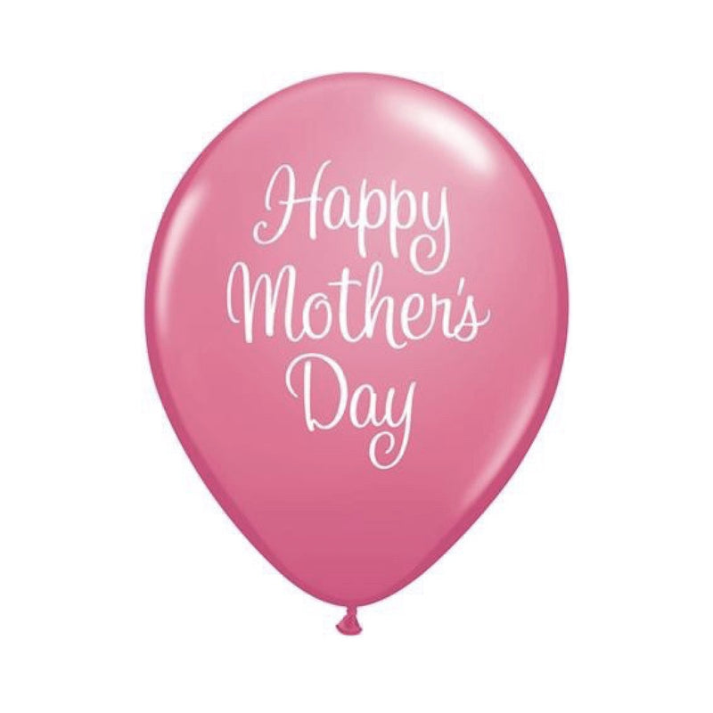 """Mother's Day"" Pink Script Balloon, Surprize Enterprize, Putti Fine Furnishings"