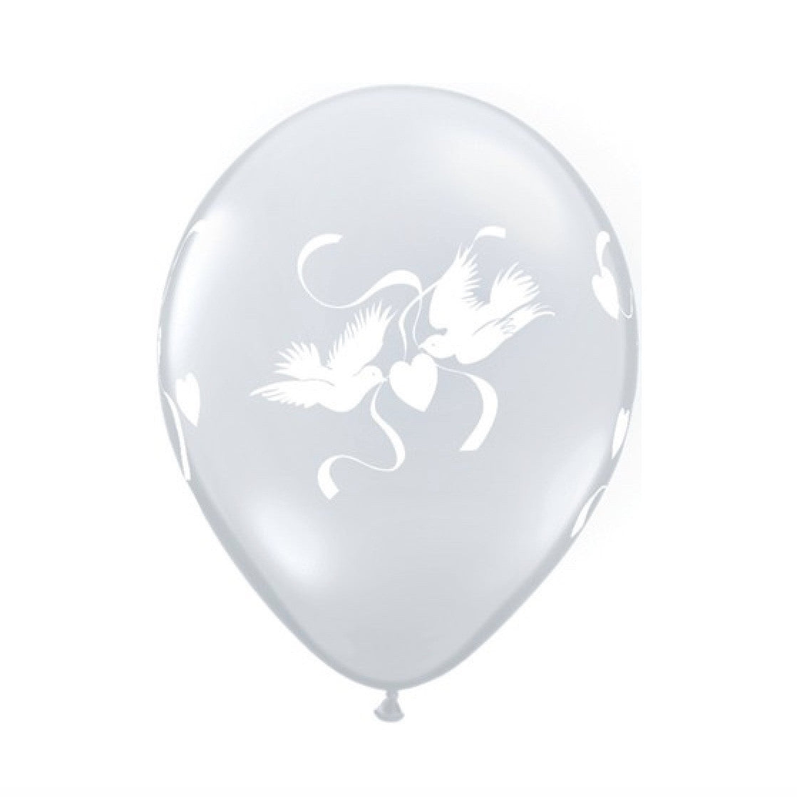 Love Doves Diamond Clear Transparent Balloons, SE-Surprize Enterprize, Putti Fine Furnishings