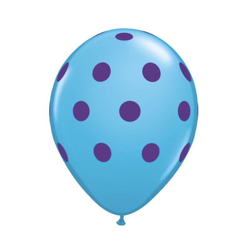 Big Polka Dots Colorful Balloons - Blue & Purple, Surprize Enterprize, Putti Fine Furnishings
