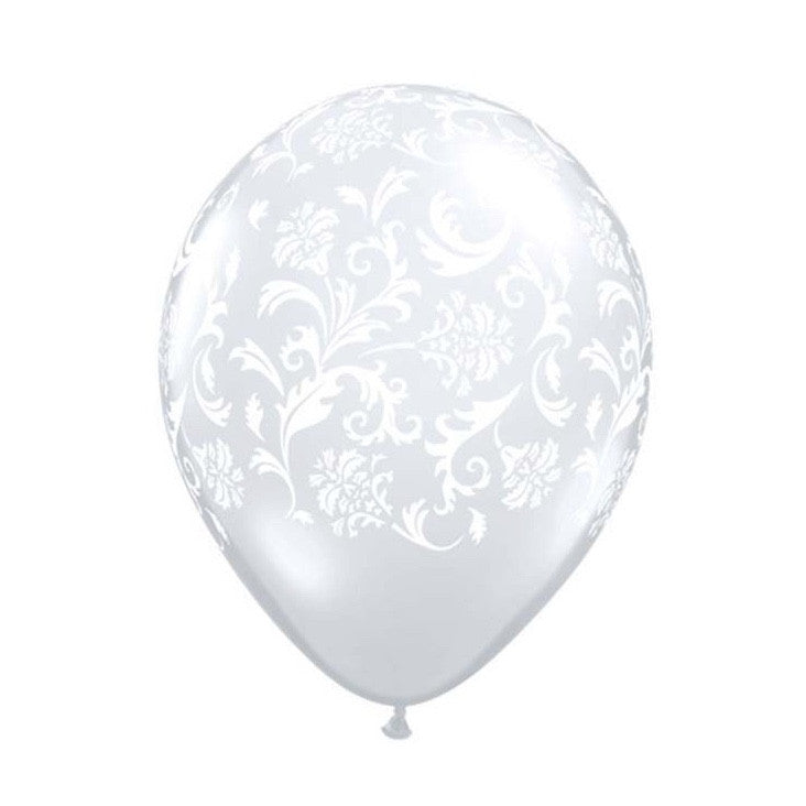 Damask Diamond Clear Transparent Balloons, SE-Surprize Enterprize, Putti Fine Furnishings