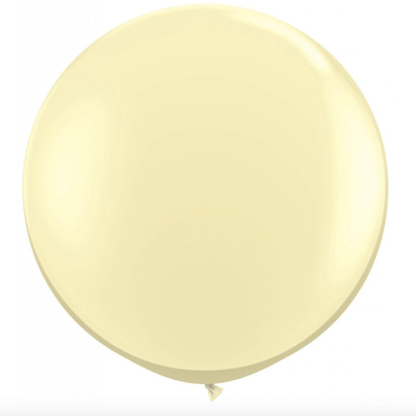 "Giant Round Balloon 30""- Pearlized Pastel Ivory, SE-Surprize Enterprize, Putti Fine Furnishings"