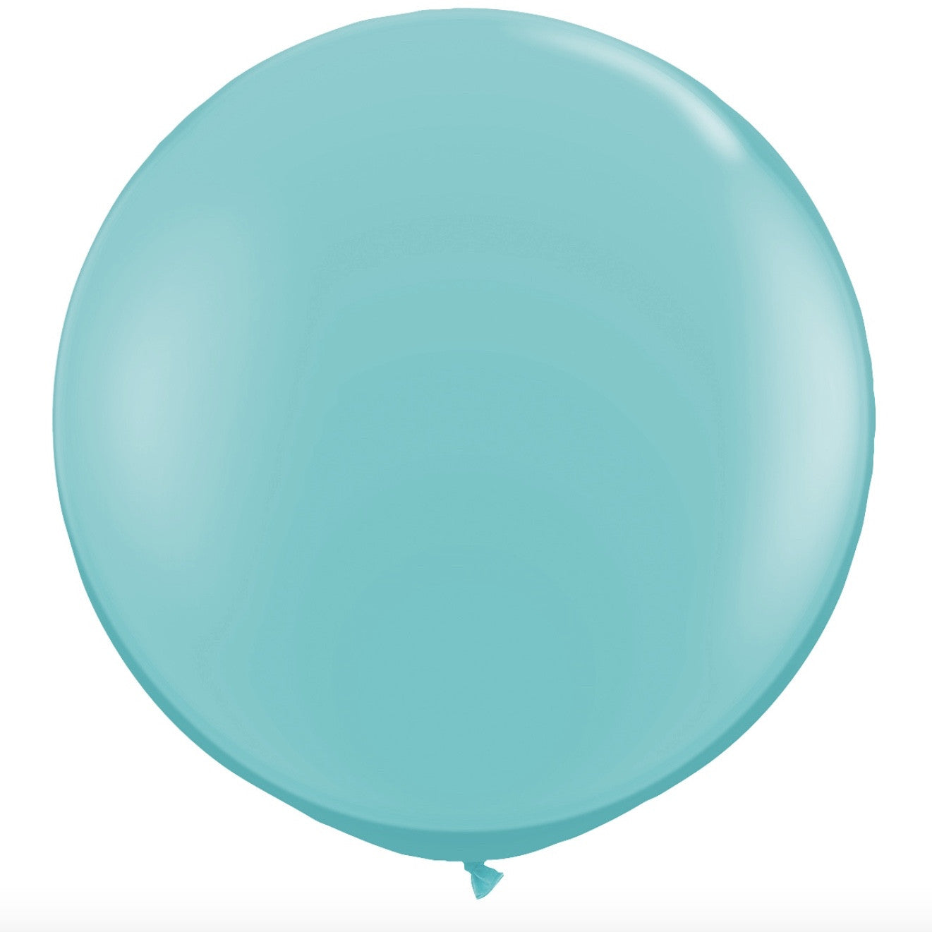 "Giant Round Balloon 36""- Carribbean Blue, SE-Surprize Enterprize, Putti Fine Furnishings"