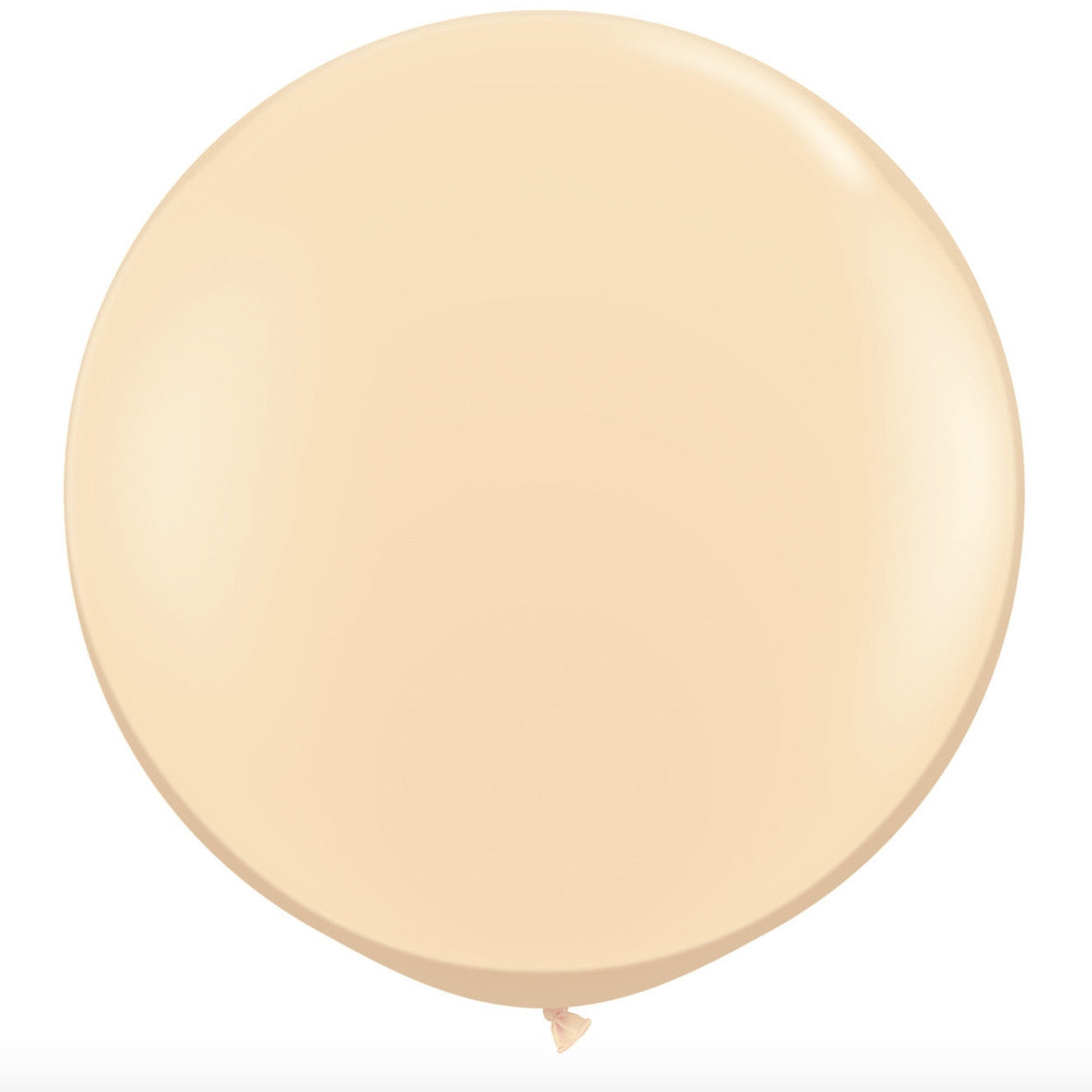 "Giant Round Balloon 36""- Blush"