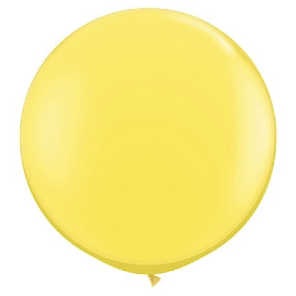 "Giant Round Balloon 36""- Yellow"