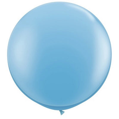 "Giant Round Balloon 36""- Pale Blue, SE-Surprize Enterprize, Putti Fine Furnishings"