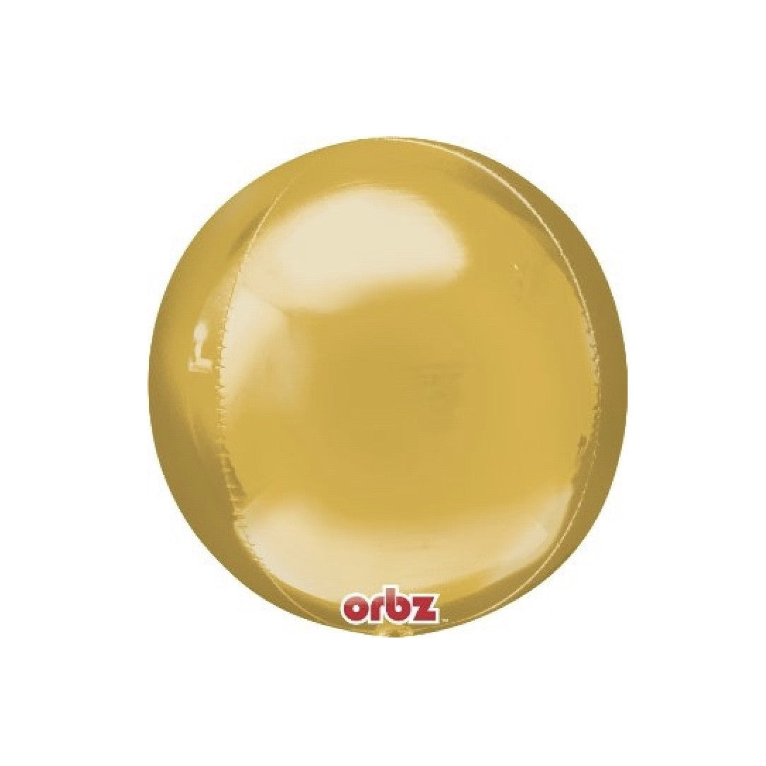 Metallic Gold Mylar Orbz Balloons, SE-Surprize Enterprize, Putti Fine Furnishings