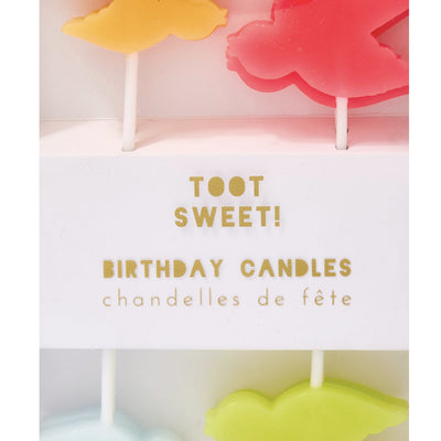 """Pretty Birdie"" Candles -  Party Supplies - Meri Meri UK - Putti Fine Furnishings Toronto Canada - 2"