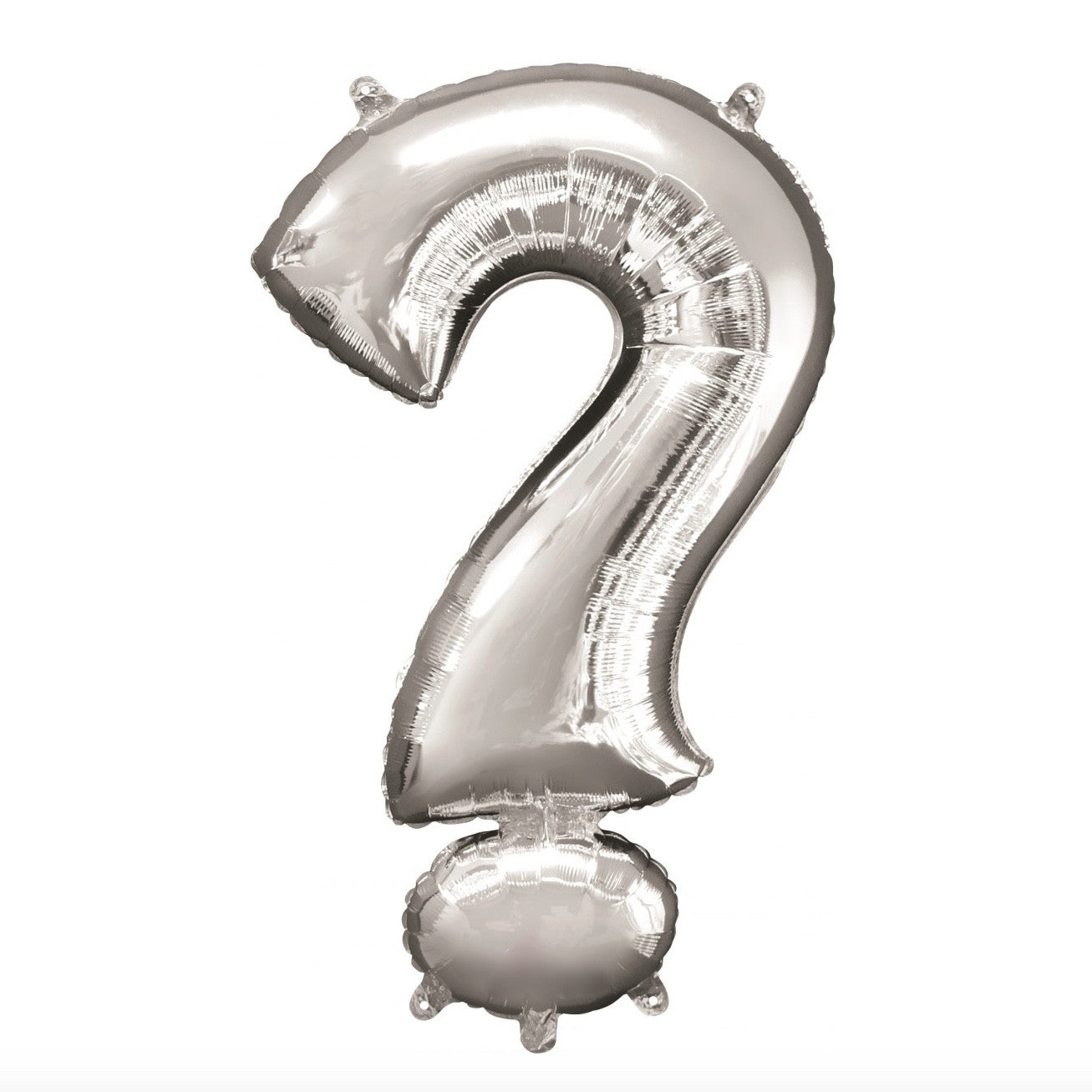Silver Foil Question Mark Balloon, SE-Surprize Enterprize, Putti Fine Furnishings