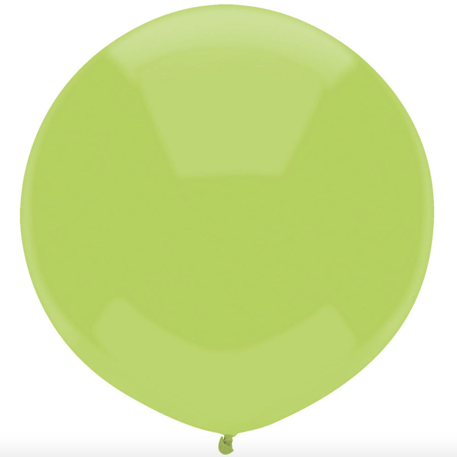 "Round Outdoor Balloon 17""- Kiwi Lime"