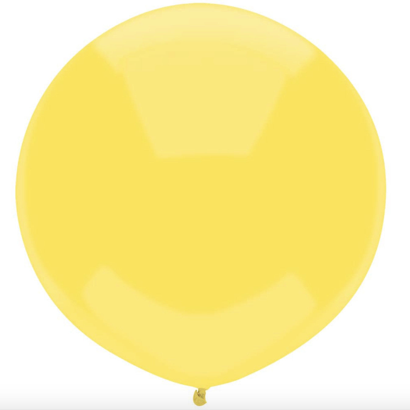 "Round Outdoor Balloon 17""- Sun Yellow"