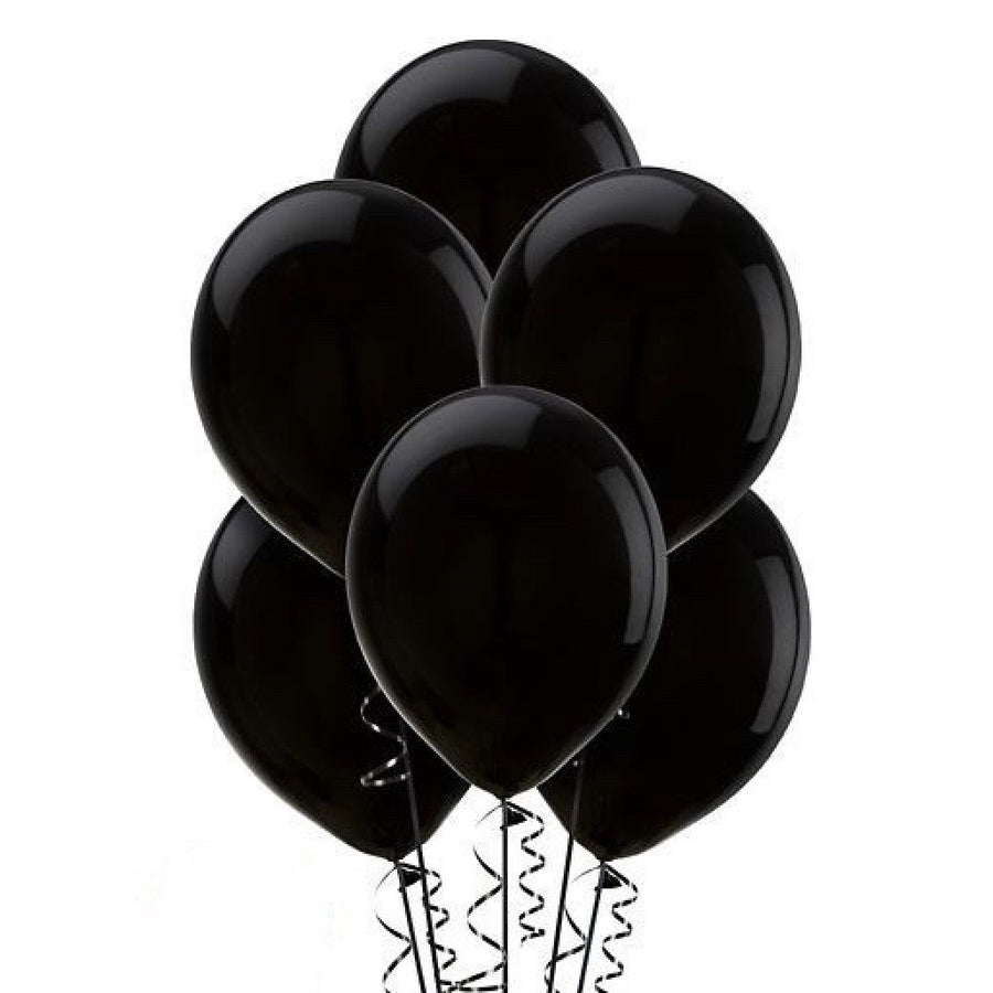Black Onyx Opaque Balloons, SE-Surprize Enterprize, Putti Fine Furnishings