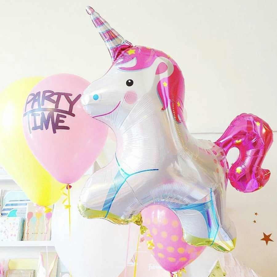 "Unicorn Mylar Balloon 36"", Northstar Balloons, Putti Fine Furnishings"