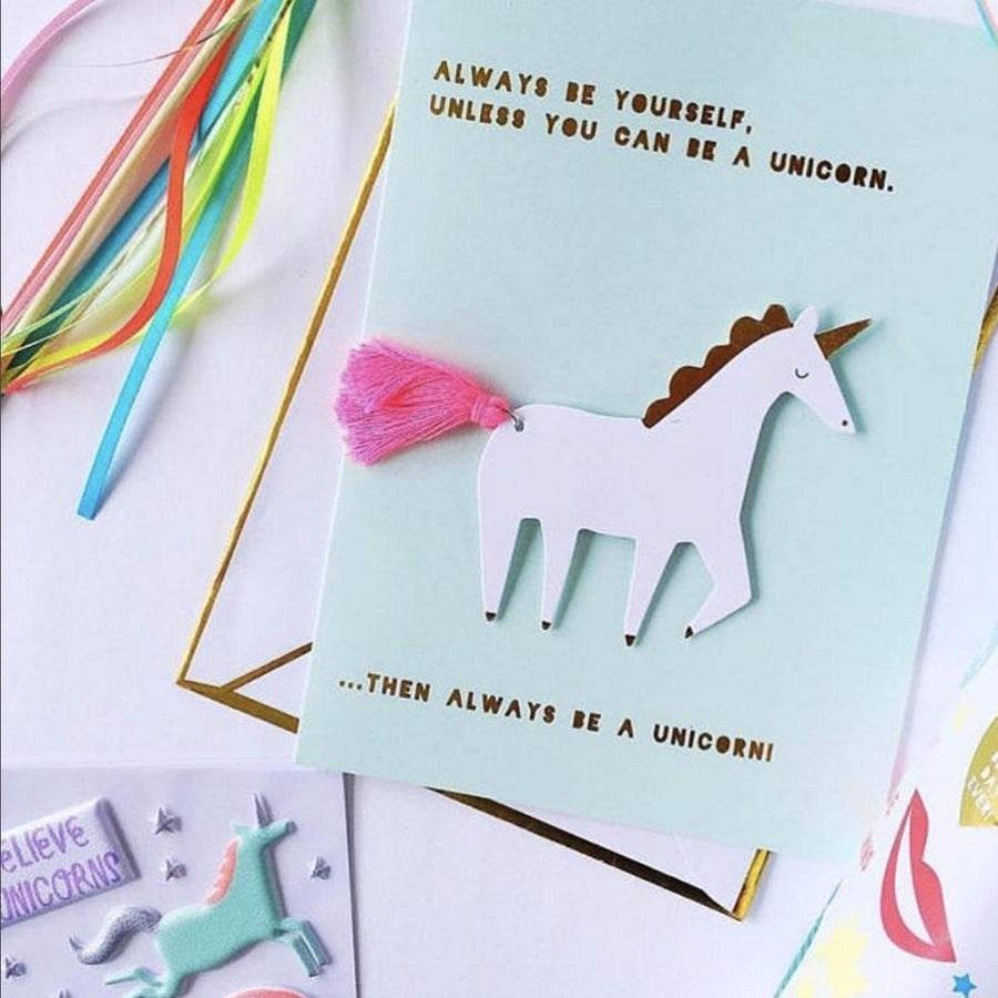 Meri Meri Unicorn Card