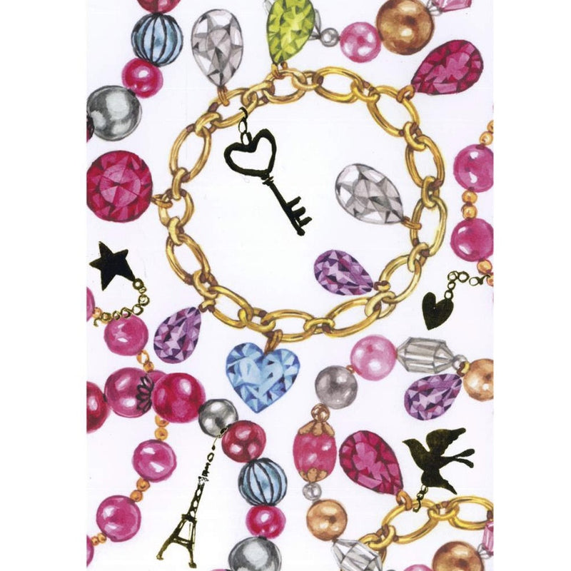 Charm Bracelet Greeting Card, JE-Jannex Enterprises, Putti Fine Furnishings