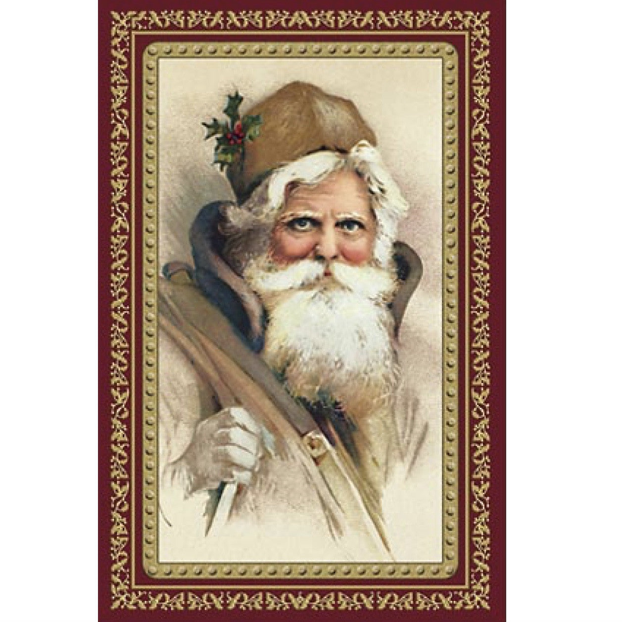 Old World Christmas Victorian Father Christmas Card - Le petite ...