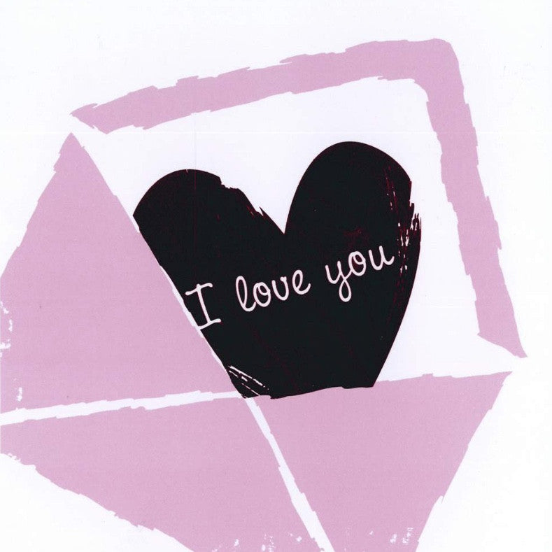 """I Love You"" Card, JE-Jannex Enterprises, Putti Fine Furnishings"