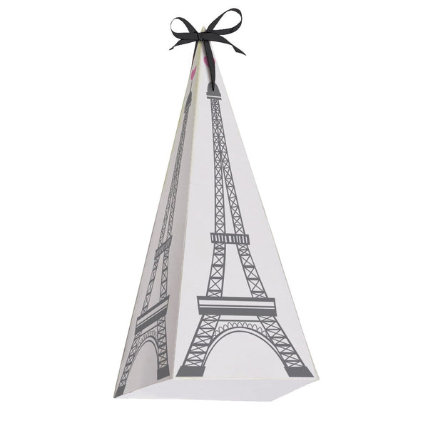 Eiffel Tower Treat Boxes, CC-Creative Converting, Putti Fine Furnishings