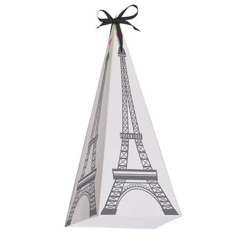 Eiffel Tower Treat Boxes-Party Supplies-CC-Creative Converting-Putti Fine Furnishings