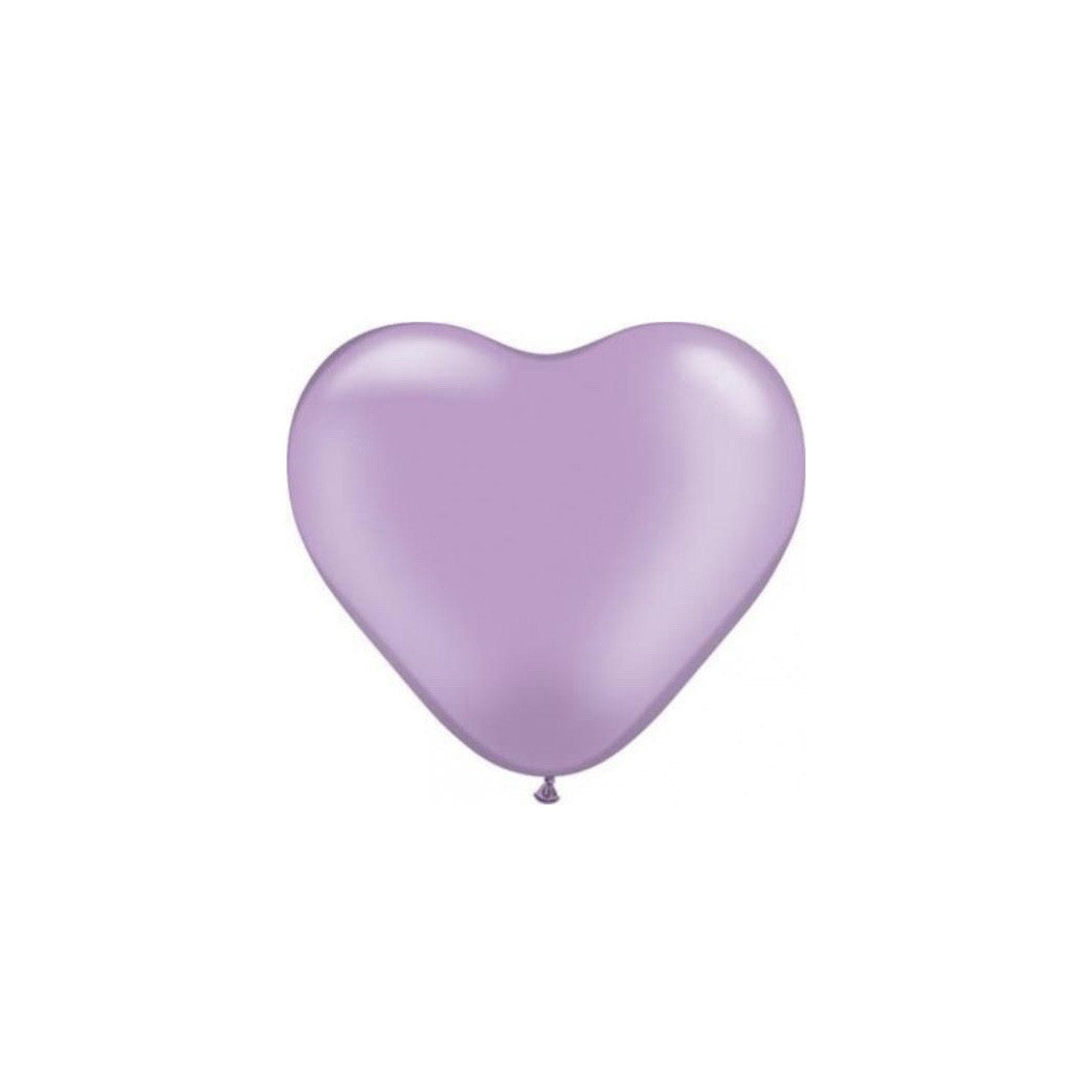 "Pearlized Heart Balloons - Lavender 6"", SE-Surprize Enterprize, Putti Fine Furnishings"