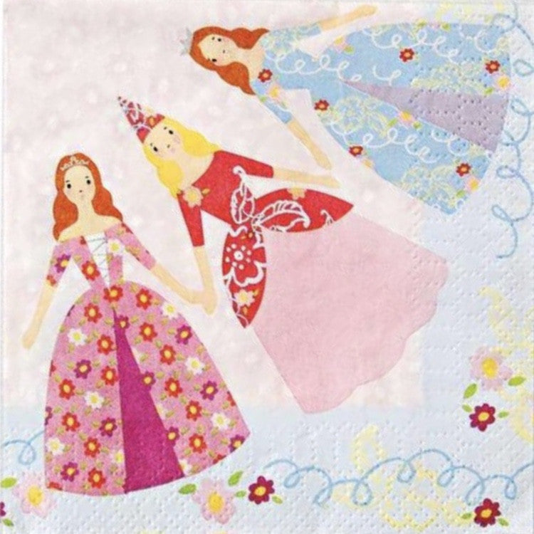 Meri Meri Princess Paper Napkins, MM-Meri Meri UK, Putti Fine Furnishings