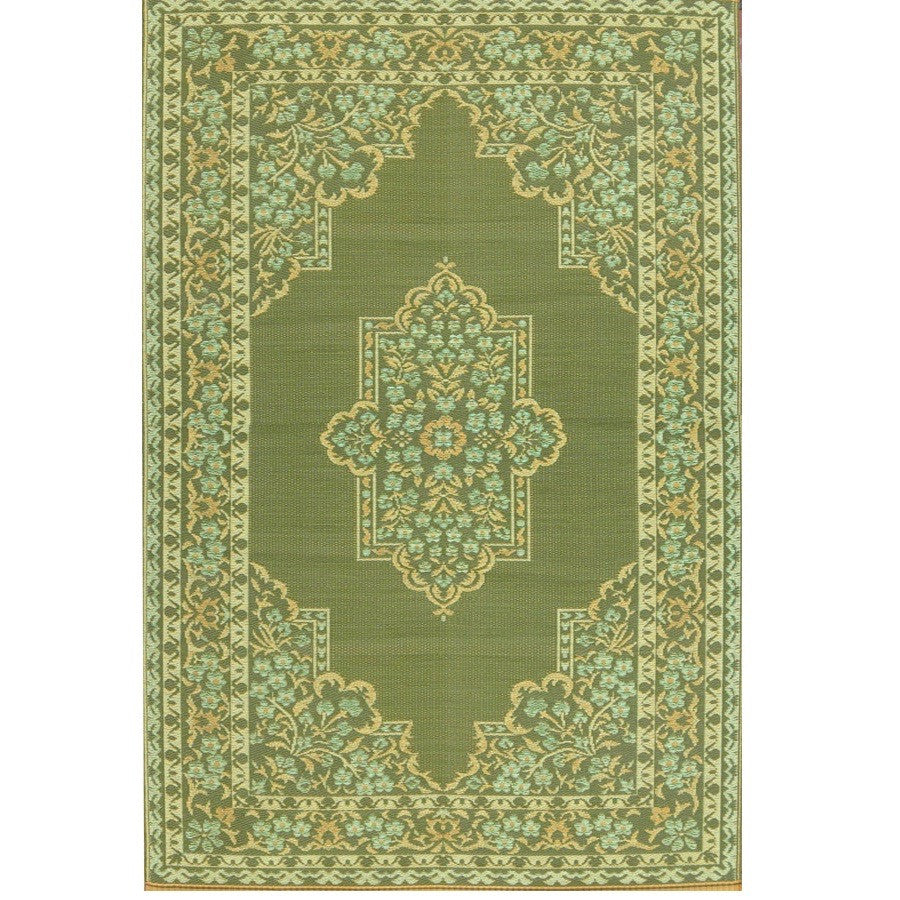 Mad Mats Outdoor Carpet Bouquet-Outdoor Carpets-MMAT-Mad Mats-6'x 9'-Medium Green-Putti Fine Furnishings