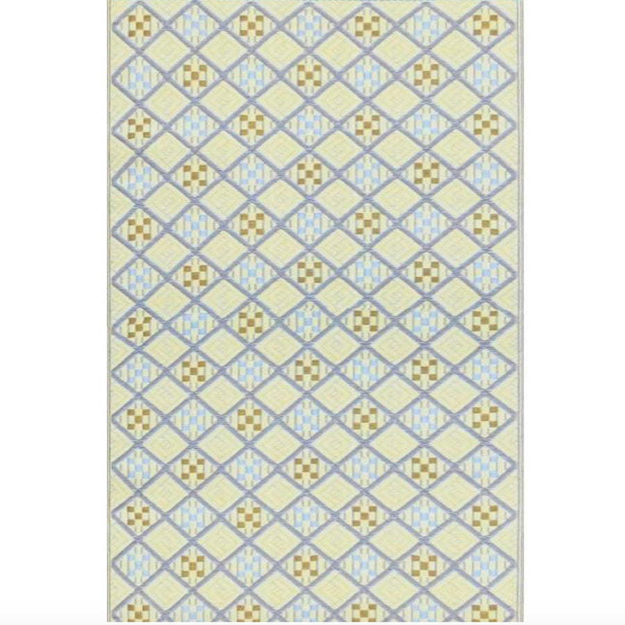 Mad Mats Outdoor Carpet Geometric Scotch