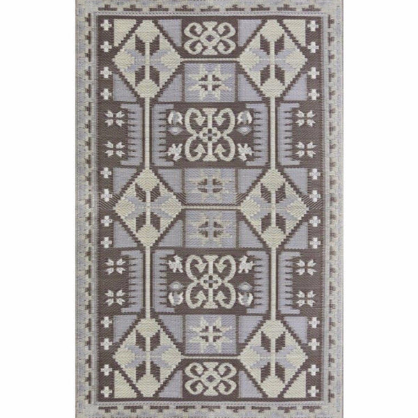 Mad Mats Outdoor Carpet Ankara - 5' x 8' / Pewter Outdoor Carpets - Mad Mats - Putti Fine Furnishings Toronto Canada - 1
