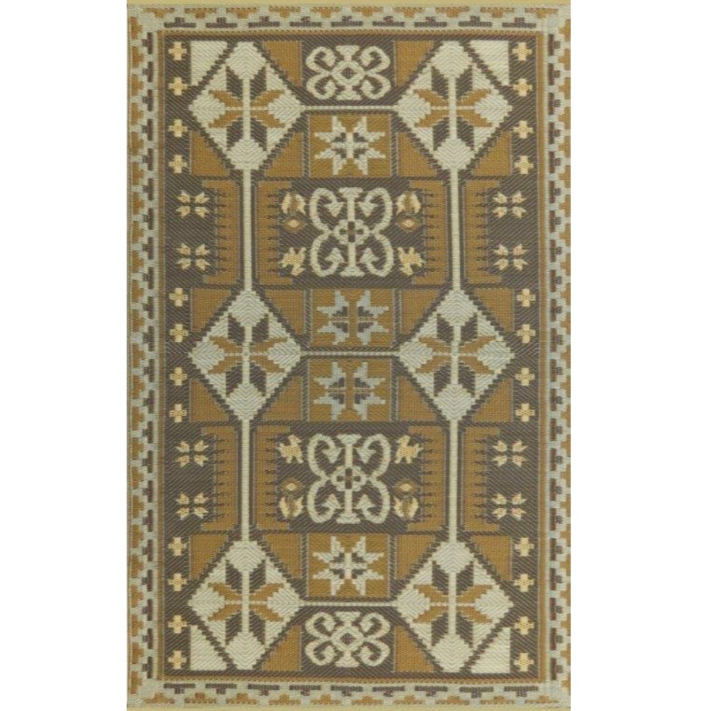 Mad Mats Outdoor Carpet Ankara - 5' x 8' / Gold Outdoor Carpets - Mad Mats - Putti Fine Furnishings Toronto Canada - 2