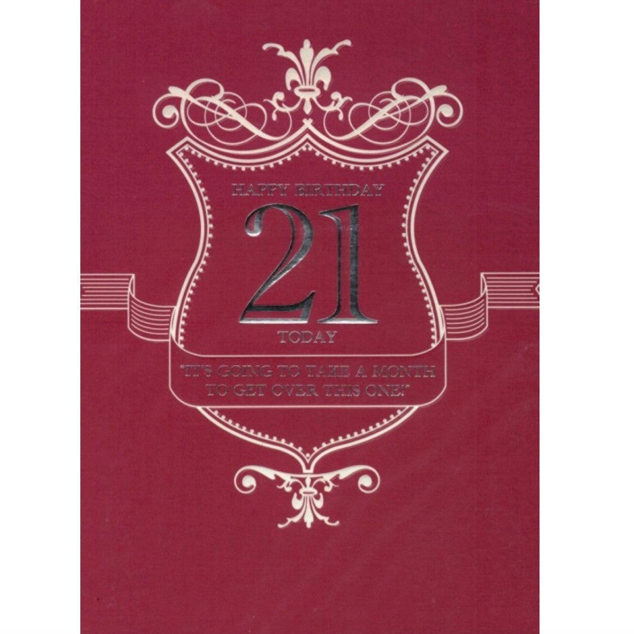 21st Birthday Card, ID-Incognito Distribution, Putti Fine Furnishings