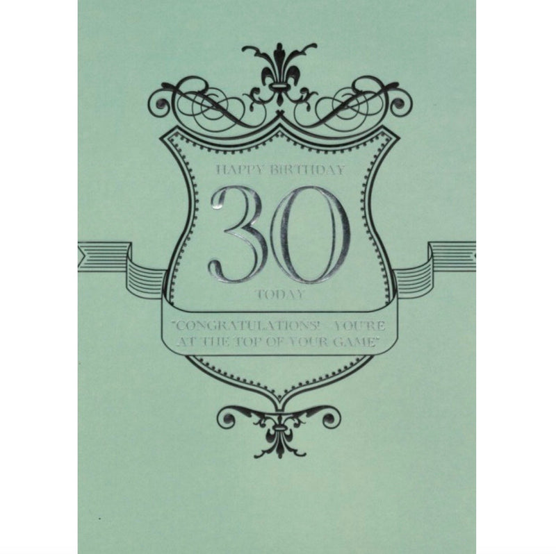 30th Birthday Card, ID-Incognito Distribution, Putti Fine Furnishings