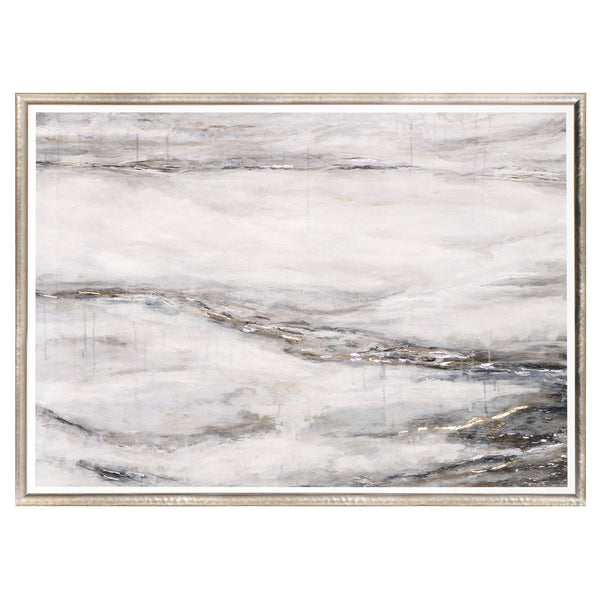 """Alabaster Flow"" Framed Print-Artwork-Cel Arts Studio-Putti Fine Furnishings"