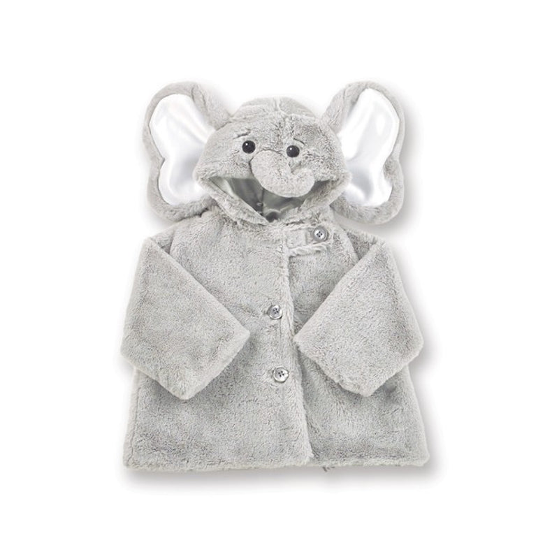 Lil' Spout Elephant - Coat - 6 - 12 months Children's - BC-Bearington Collection - Bella Flor - Putti Fine Furnishings Toronto Canada