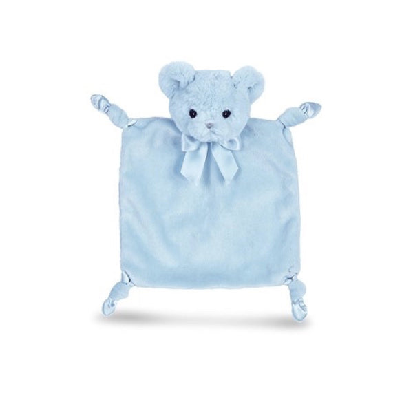 "Blue ""Hiuggie Bear"" - Wee Snuggler -  Children's - BC-Bearington Baby Collection - Bella Flor - Putti Fine Furnishings Toronto Canada"
