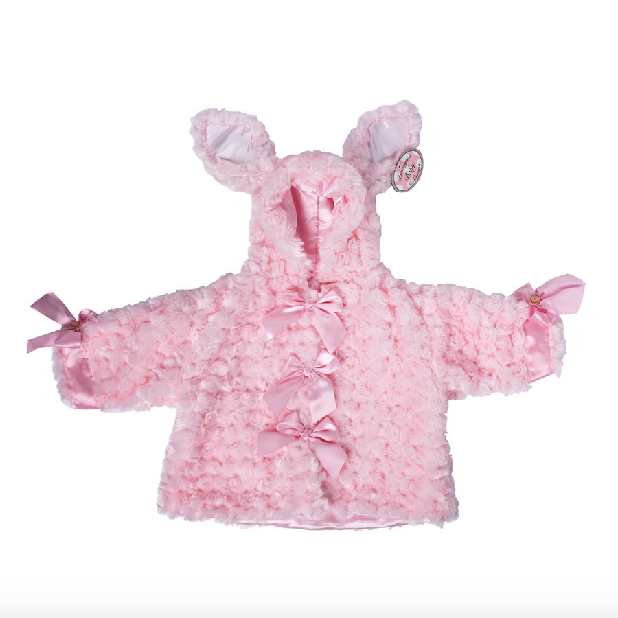 """Pink Cottontail"" Rabbit - Coat"