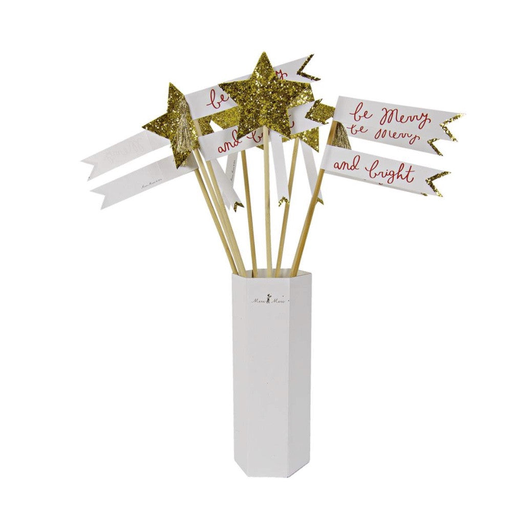 Star Wand Flags -  Party Supplies - Meri Meri UK - Putti Fine Furnishings Toronto Canada