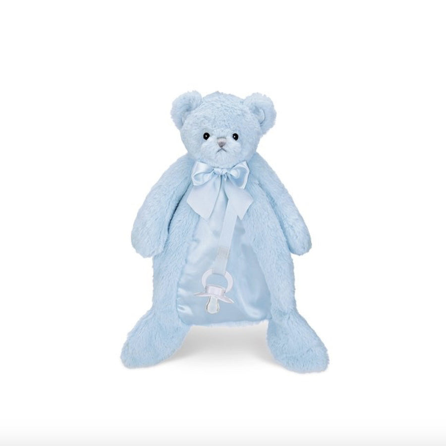 Huggie Bear Blue - Pacifier Pet -  Children's - BC-Bearington Baby Collection - Bella Flor - Putti Fine Furnishings Toronto Canada