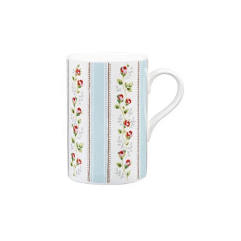 Tea Rose Bone China Mug -  Tableware - J L Bradshaws - Putti Fine Furnishings Toronto Canada