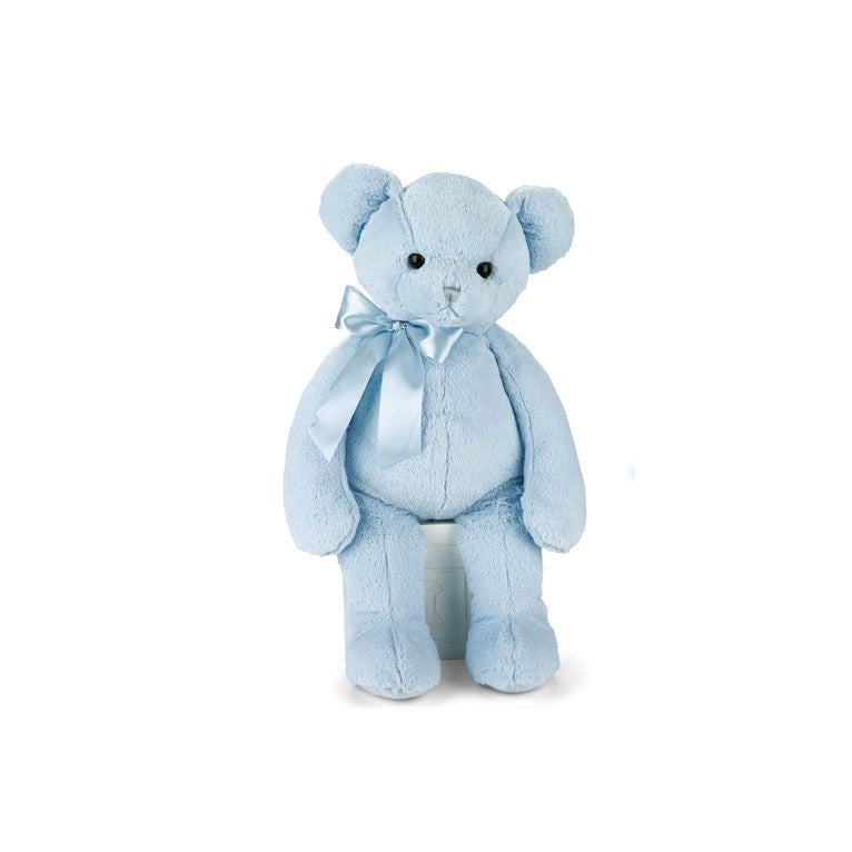 Huggie Bear Teddy - Blue -  Children's - BC-Bearington Baby Collection - Bella Flor - Putti Fine Furnishings Toronto Canada
