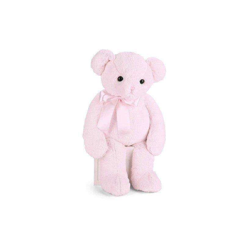 Huggie Bear Teddy - Pink -  Children's - BC-Bearington Baby Collection - Bella Flor - Putti Fine Furnishings Toronto Canada