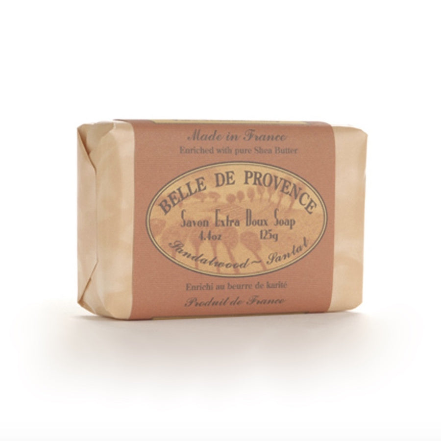 """Belle de Provence"" Soap - Sandalwood"