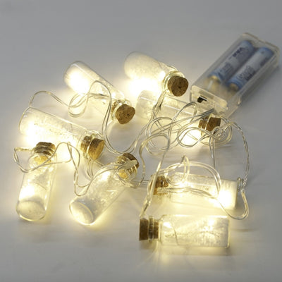 Brush Tree in Glass Bottle LED Light Garland -  Christmas - V&L-V & L Associates Inc. - Putti Fine Furnishings Toronto Canada - 1