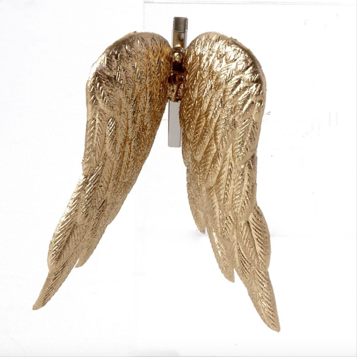 Gold Angel Wing with Clip