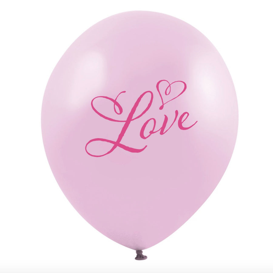 """Pink Love"" Balloon - Pink"
