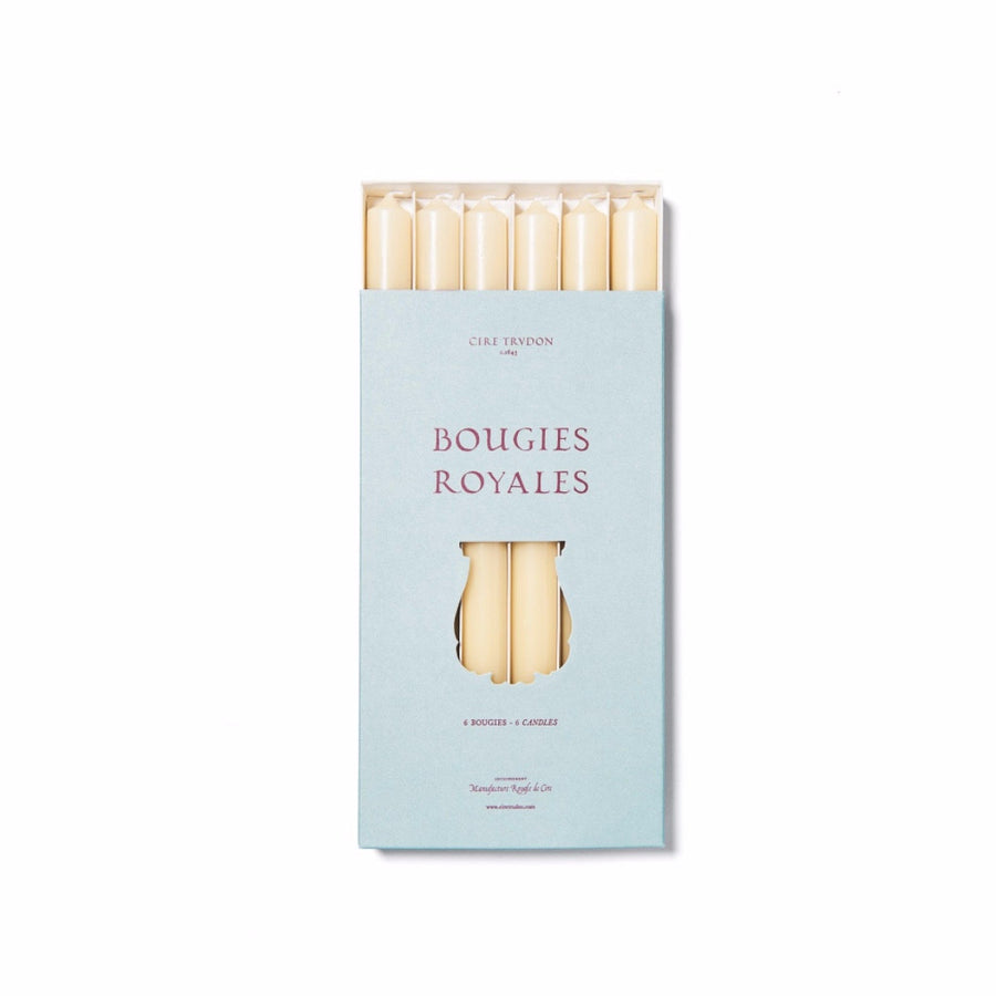 Cire Trudon Royales Taper Candles Stone