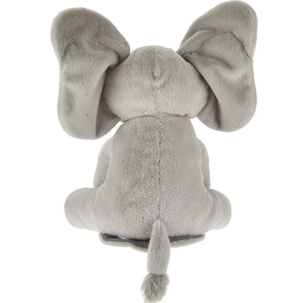Baby Gund - Flappy the Elephant Animated - French Speaking-Children's Toys-EC-Enesco Canada-Putti Fine Furnishings