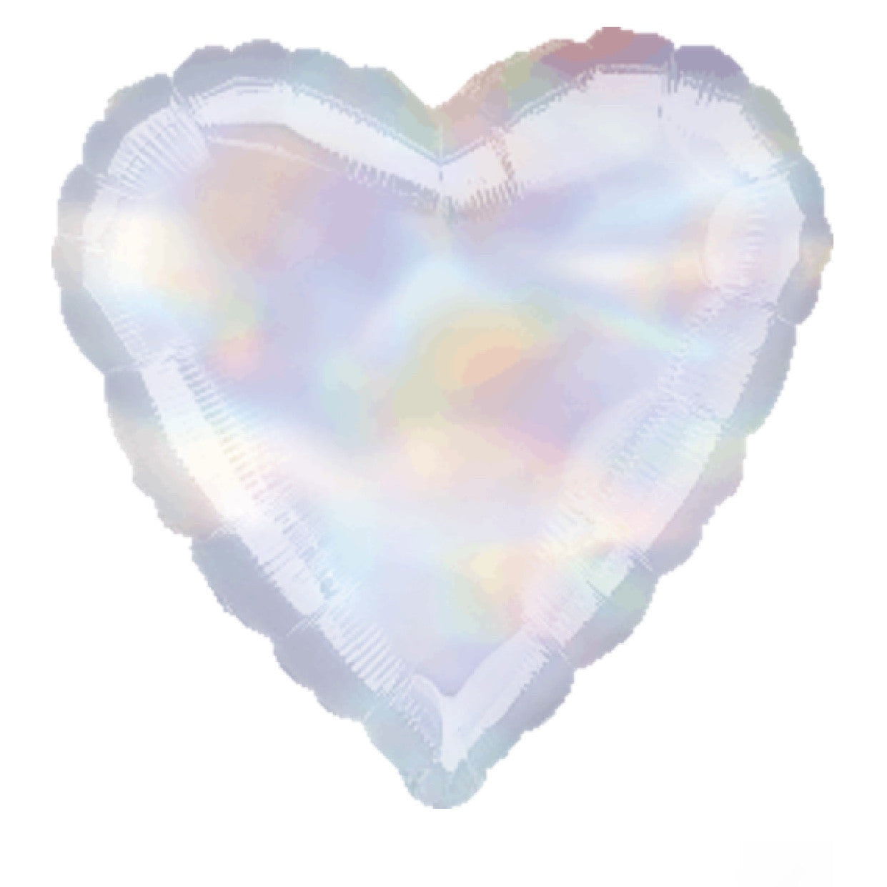 Iridescent Mylar Heart Balloon -  Party Supplies - Surprize Enterprize - Putti Fine Furnishings Toronto Canada