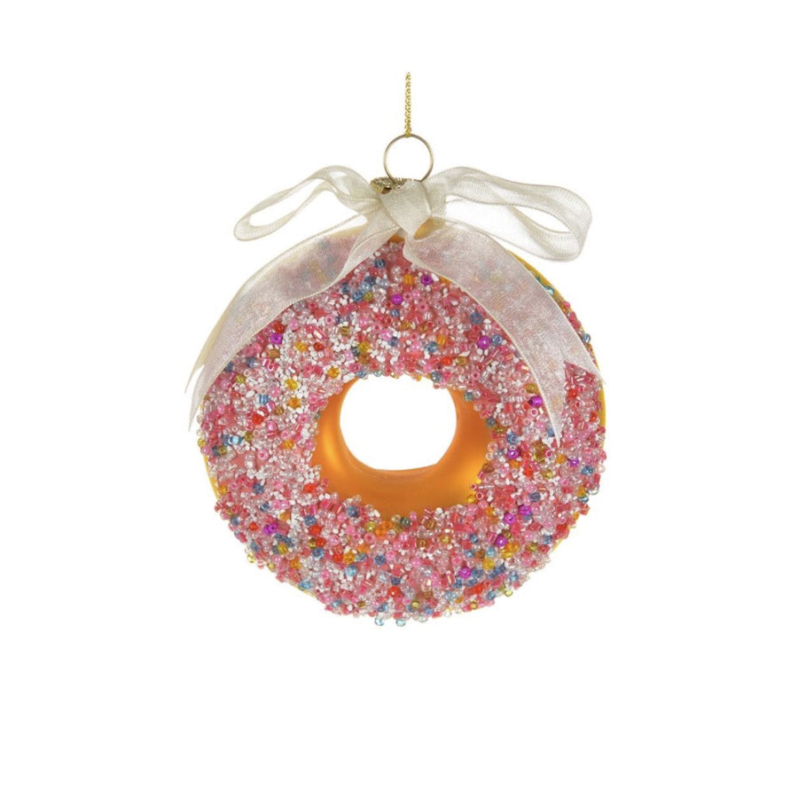 Glass Doughnut with Sprinkles